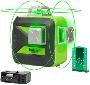Huepar 3D Green Beam Self-Leveling Laser Level