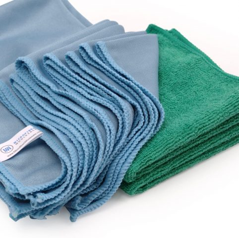 Microfiber Lint-Free Glass Cleaning Cloth
