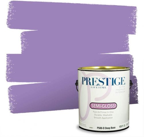 Prestige Interior Paint and Primer In One, Dahlia
