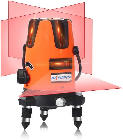 Inspiritech Self-Leveling Red Beam Laser Level